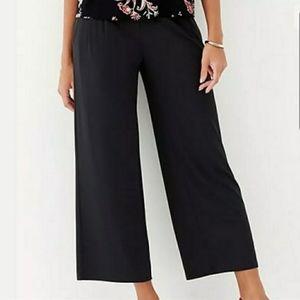 J.Jill Ponte Full Leg Crop Pants Sz XL